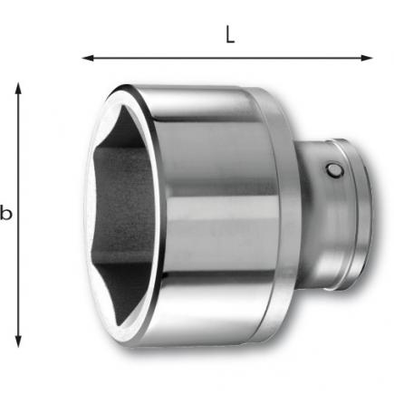 "USAG 3/4"" FullContact bihexagonal sockets - 1"
