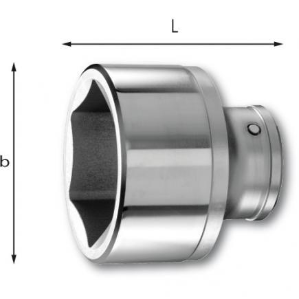 "USAG 1"" FullContact hexagonal sockets - 2"
