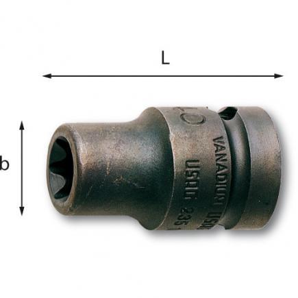USAG TORX® sockets - 2