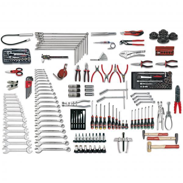 USAG Assortment for car repair (198 pcs.) - 1