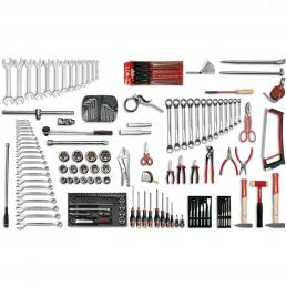 USAG Assortment for earth moving machines (133 pcs.) - 1