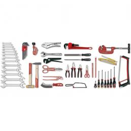 USAG 496 M Assortment for plumbers (51 pcs.) | Mister Worker®