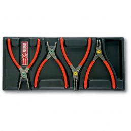 USAG 519/127N Pliers Assortment (4 pcs.) | Mister Worker®