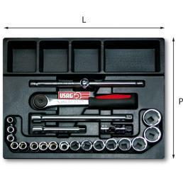 USAG Plastic tray for drawers (22 pcs.) - 1