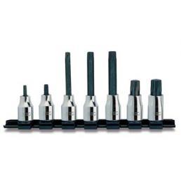"USAG Set of 7 1/2"" socket bits for XZN screws - 1"