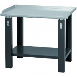 USAG Workbench with sheet steel top - 1