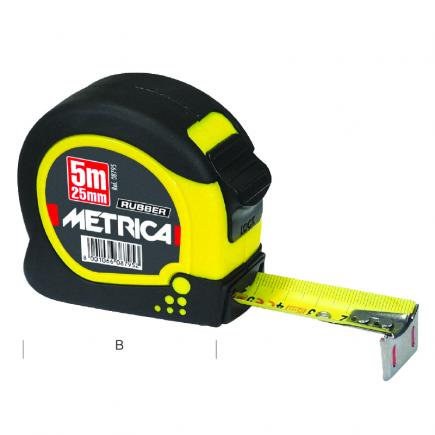 METRICA METRICA RUBBER TOUCH - TAPE RULE - 1