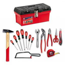 USAG 641 A/S15 Maintenance assortment in 641 A tool box (15 pcs.) | Mister Worker®