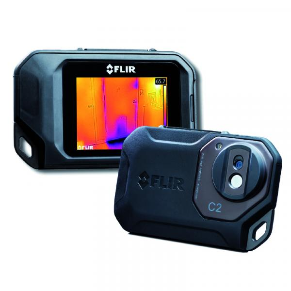 """FLIR THERMAL CAMERA C3 with pouch, 1/4"""" tripod adapter and min/max values - 1"""