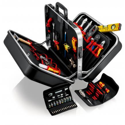 "KNIPEX Tool Case ""BIGT win"" Electro 63 parts - 1"