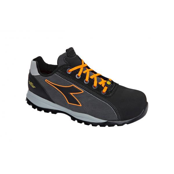 DIADORA UTILITY Safety Shoes GLOVE NET LOW PRO S3 HRO SRA ESD, grey / orange - 1