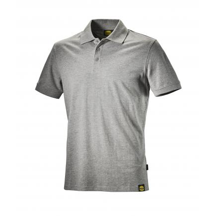 DIADORA UTILITY Summer work polo shirt MC ATLAR II, grey - 1