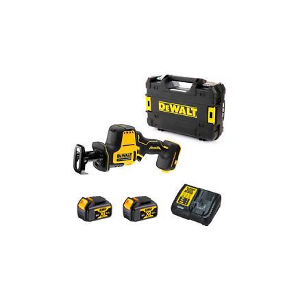 DeWALT XR 18V Saber Mini-Saw with 2 Li-Ion 4Ah batteries with Box TSTAK - 1