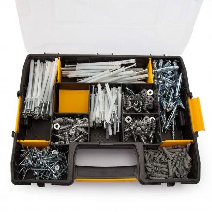 DeWALT Mixed dowel kit (350 pcs) - 1