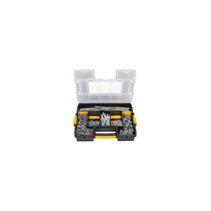 DeWALT Assorted nylon plugs kit (395 pieces) - 1