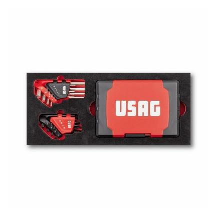 USAG Hexagon set and inserts for screwing (117 pcs) - 1