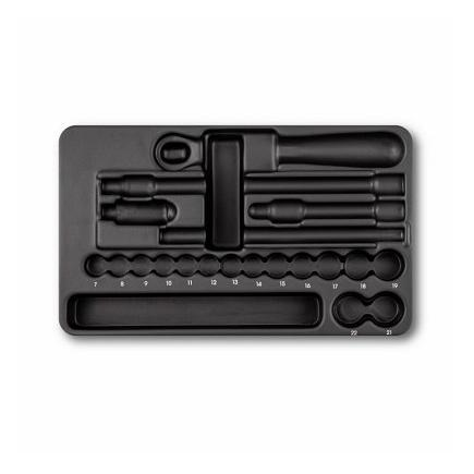 USAG Plastic tray (empty) for assortment 519/605BA, 519/605BEA, 519/605BB and 519/605BEB - 1