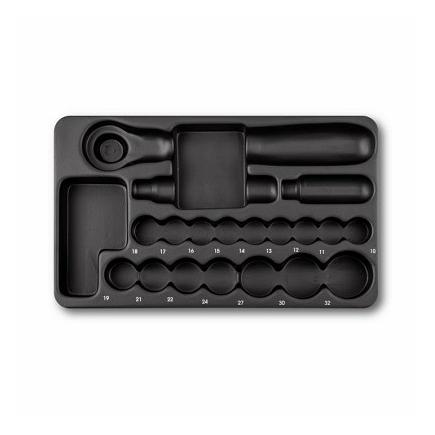 USAG Plastic tray (empty) for assortment 519/605CA, 519/605CB, 519/605CEA and 519/605CEB - 1