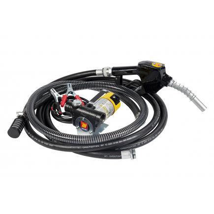 """MECLUBE Transfer electric kit pumps for diesel """"Battery Kit"""" 45 lt/min 24V automatic nozzle - 1"""