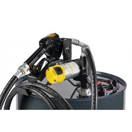 "MECLUBE Transfer electric kit pumps for diesel ""Barrel Kit"" 45 lt/min 12V automatic nozzle - 1"