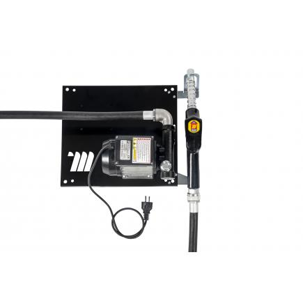 """MECLUBE Wall dispenser for diesel transfer """"Compact"""" 60 lt/min 230V automatic nozzle - 1"""