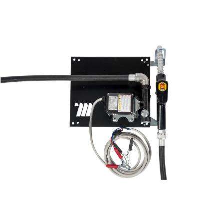 """MECLUBE Wall dispenser for diesel transfer """"Compact"""" 60 lt/min 24V automatic nozzle - 1"""