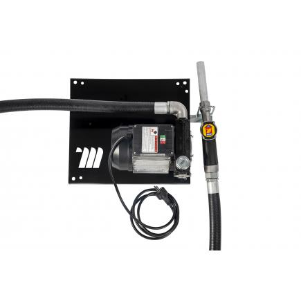 """MECLUBE Wall dispenser for diesel transfer """"Compact"""" 100 lt/min 115V manual nozzle - 1"""