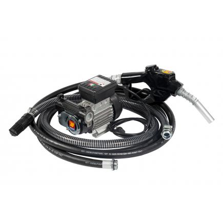 """MECLUBE Transfer electric kit pumps for diesel """"Transfer Kit"""" 70 lt/min 115V automatic nozzle - 1"""