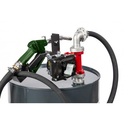 """MECLUBE Kit electric pumps for gasoline transfer """"Benz Kit"""" 50 lt/min 12V automatic nozzle - 1"""
