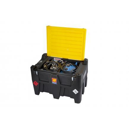 MECLUBE Diesel + Aadblue tank 400+50 lt 45+12V manual nozzle - 1
