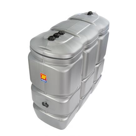 "MECLUBE Polyethylene tank for diesel and AdBlue® ""Tank in tank"" 1500 lt - 1"