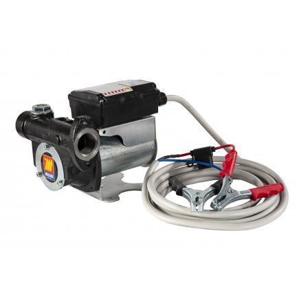 MECLUBE Battery electric pumps for diesel fuel transfer 12V 60 lt/min L. 4mt - 1