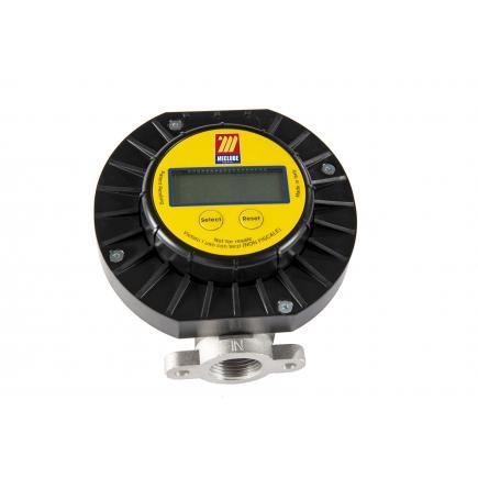 MECLUBE Digital volumetric flow meter min-max flow rate 5-120 l/min - 1