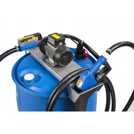 MECLUBE Electric kit barrels pumps for AdBlue® 115V 40 lt/min automatic nozzle and flow meter - 1