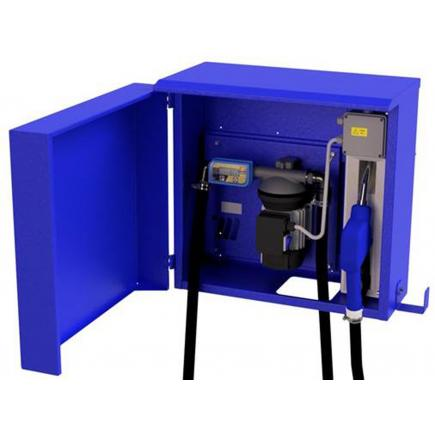 """MECLUBE Distributor cabinet for AdBlue® """"Meclube Box"""" 40 lt/min 115V automatic nozzle AD80 with flow meter - 1"""