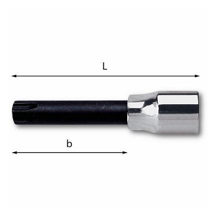 "USAG 1/2"" Socket wrenches for splined hexagonal screws (RIBE) - 1"