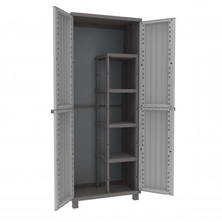 Merveilleux TERRY 2 Doors Outdoor Cabinet 68x37,5x170   1 Broom Holder   1