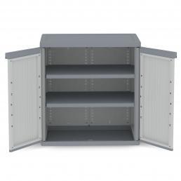 TERRY Doors Outdoor Cabinet 89,7x53,7x94,5 - 2 adjustable inner shelves - 3
