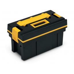 TERRY Small cantilever tool case with detachable lid, organizer and internal tray - 1