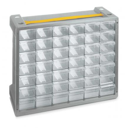 TERRY Portable stacking & nesting drawer cabinet - 42 drawers - 2
