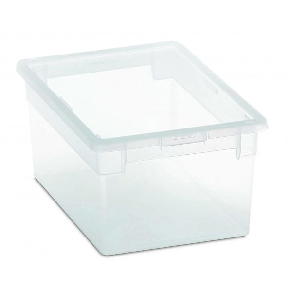 TERRY Stackable multifunctional box with lid 6 l. - 1