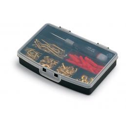 TERRY 7 section plastic organizer with lid  - 2