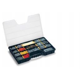 TERRY Plastic organizer with 15 movable dividers and integrated ergonomic handle - 1