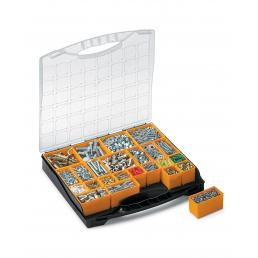 TERRY Plastic Organizer with lid and 24 removable bins - 1