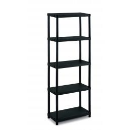 TERRY Modular outdoor resin 5 shelves unit 60x30x165 - 2