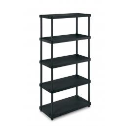 TERRY Modular outdoor resin 5 shelves unit 80x40x173,4 - 2