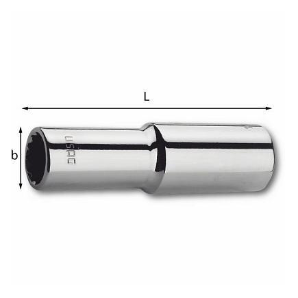 USAG FullContact long bihexagonal sockets - 1