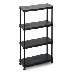 TERRY Modular outdoor resin 4 shelves unit 75x30x135 - 2