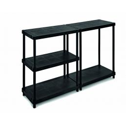 TERRY 5 shelves shelving unit with 2 assembling options 40x80 - 1