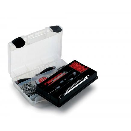 TERRY Tool case with organizer tray for small parts 29,1x22,4x8 - 2